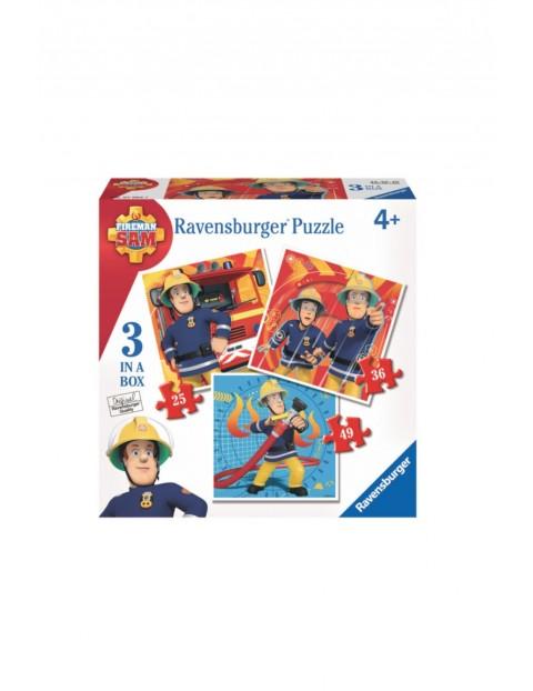 Puzzle Strażak Sam 3w1 Ravensburger
