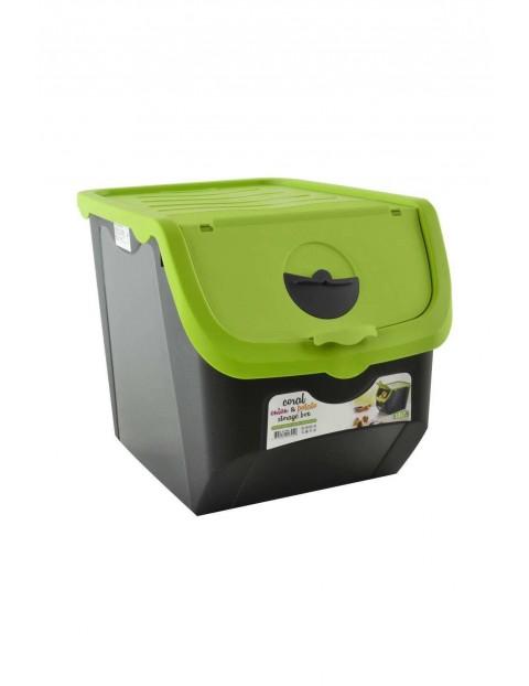 Pojemnik na warzywa, owoce- zielony 12L
