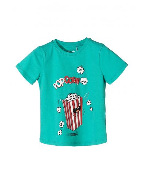 T-shirt chłopięcy-pop corn