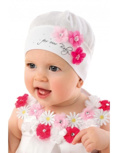 Czapka niemowlęca                 5X32BC