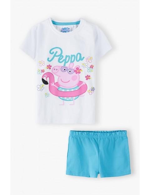 Świnka Peppa - bawełniana piżama dziewczęca