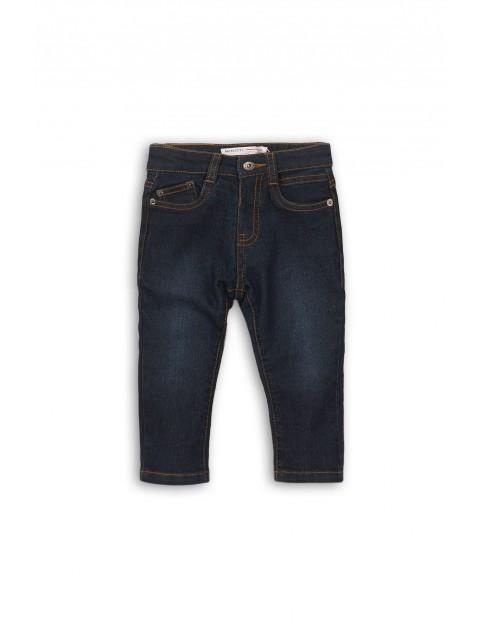 Spodnie jeansowe niemowlęce 5L35AX