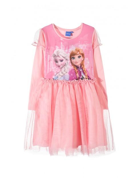 Sukienka dziewczęca Kraina Lodu 3K33AC
