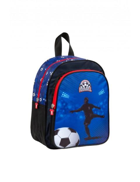 Plecak dla dziecka PIŁKA - niebieski