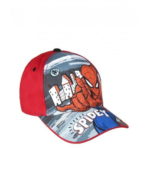 Czapka z daszkiem Spiderman - czerwona rozm 53