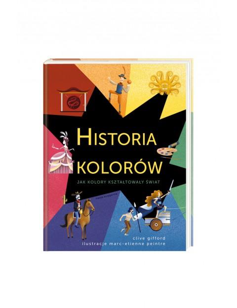 """Książka """"Historia Kolorów"""""""