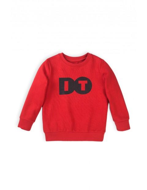Bluza dresowa chłopięca czerwona - Do it