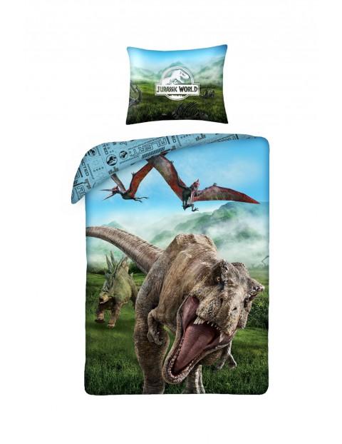 Pościel dla chłopca Jurassic World 140x200cm+70x90cm