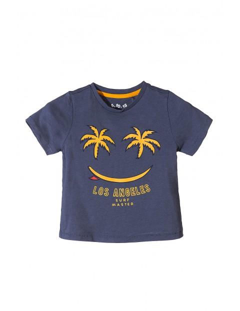 Koszulka chłopięca bawełniana- Surf master