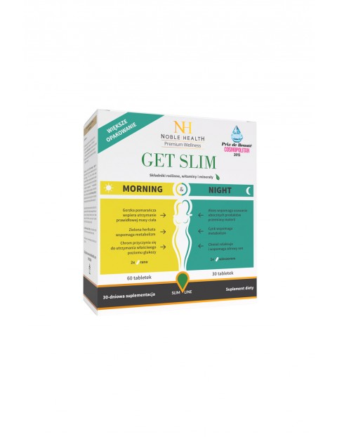 Get Slim Morning&Night suplement diety 90 tabletek