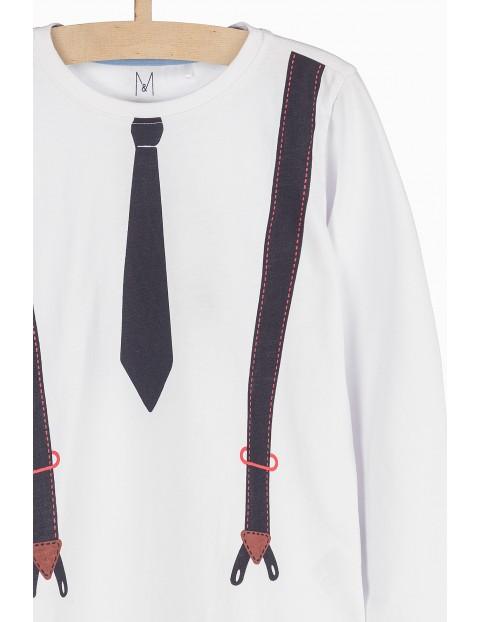 Bluzka dziewczęca z imitacją szelek