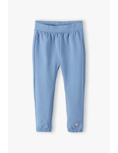 Spodnie dresowe niemowlęce - niebieskie