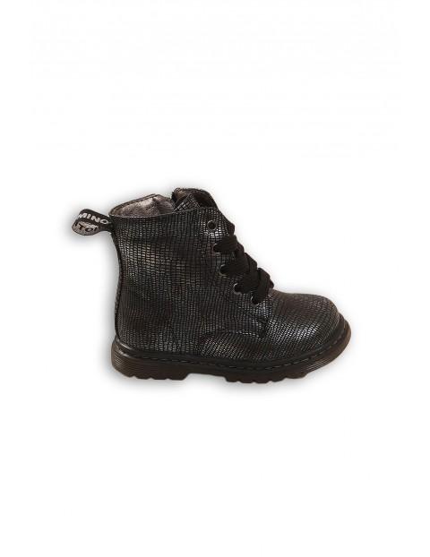 Buty dziewczęce czarne