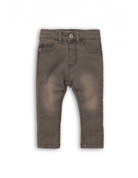 Spodnie chłopięce jeansowe 2L35AU
