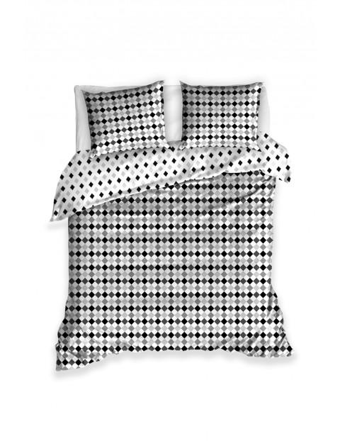 Komplet pościeli bawełnianej w symetryczne wzory 160x200+2x70x80 cm