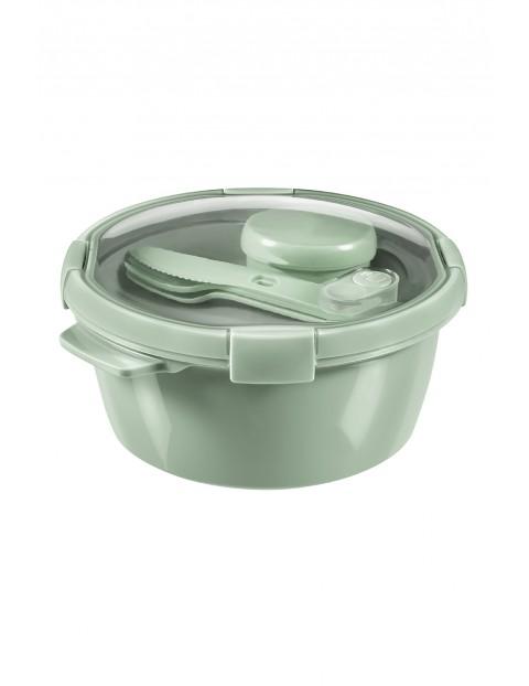 Pojemnik na żywność okrągły LUNCH KIT Curver - zielony