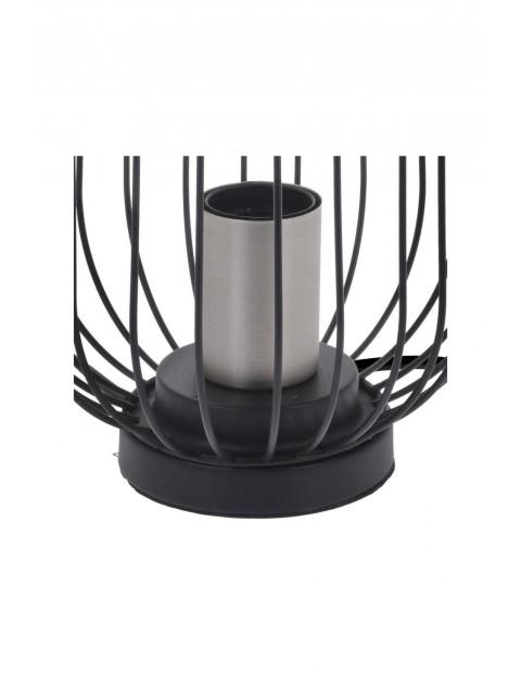 Lampka stołowa industrialna - czarna