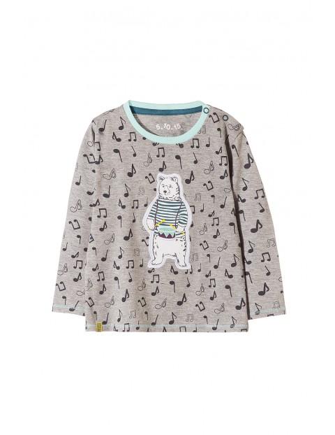 Bluzka niemowlęca dzianinowa 5H3514
