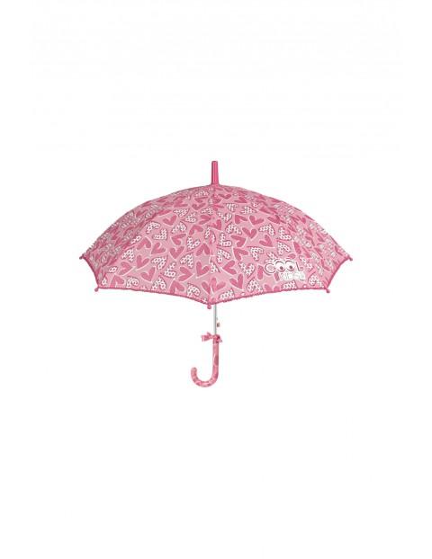 Parasol dziewczęcy różowy 3Y35GR