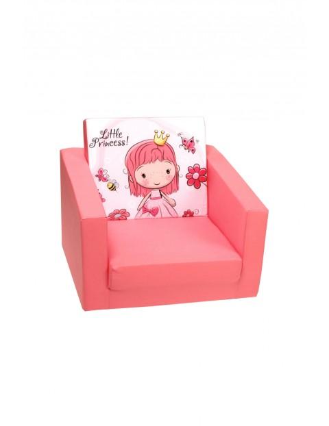 Rozkładany fotelik Delsit Księżniczka- różowy