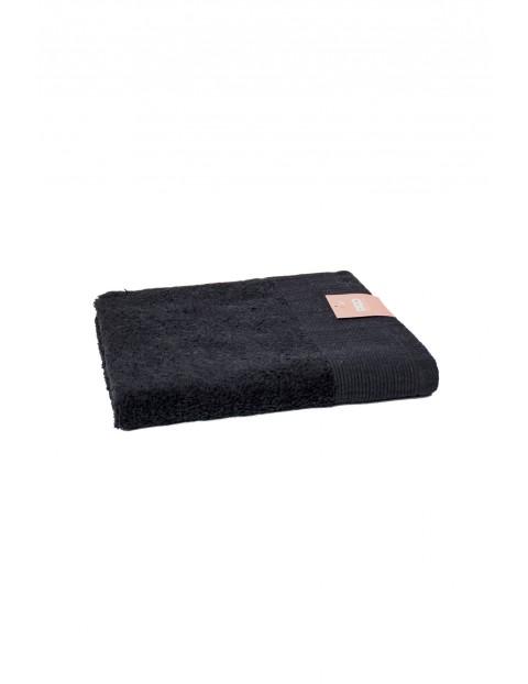 Ręcznik Aqua Frotte w kolorze czarnym 50x100cm