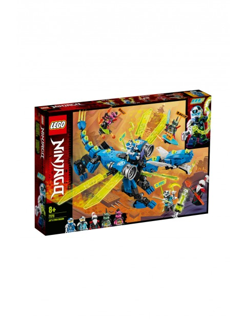 LEGO® NINJAGO®  Cybersmok Jaya - 518 elementów wiek 8+