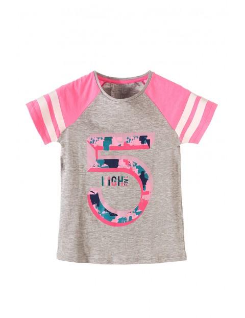 T-shirt dziewczęcy 4I3452