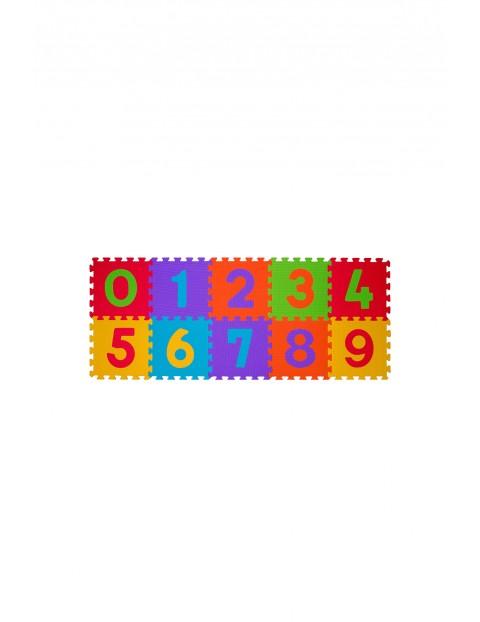 Puzzle piankowe 10szt cyferki