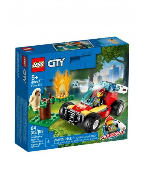Klocki Lego City - Pożar lasu - 84 el wiek 5+
