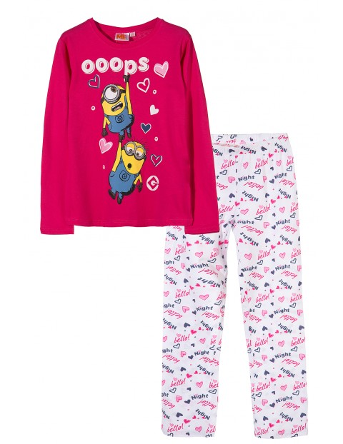 Pidżama dziewczęca Minionki 4W33A2