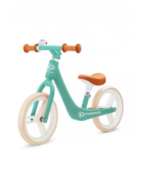 Rowerek biegowy Kinderkraft FLY PLUS zielony wiek 3+