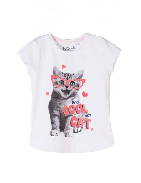 T-shirt dziewczęcy 3I3504