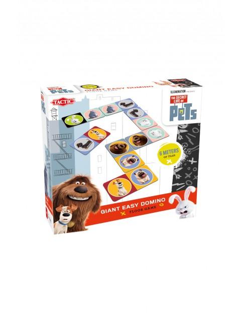 Gra planszowa Sekretne Życie Zwierząt Domino Maxi wiek 3+