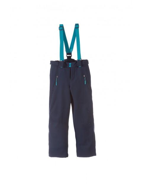 Spodnie narciarskie dziewczęce 4A3307