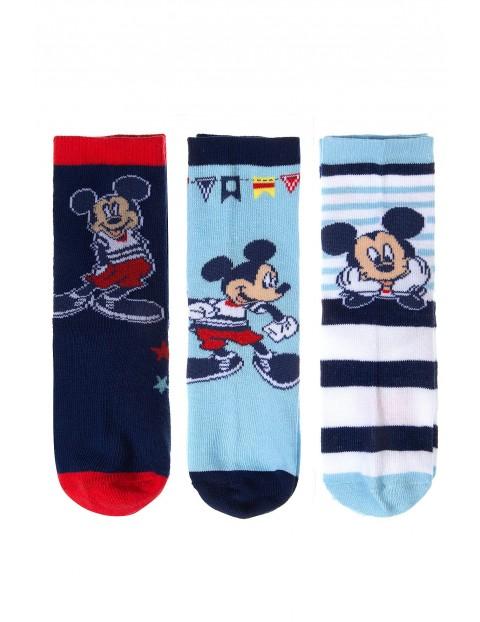 Skarpety Myszka Mickey 3pak 1V35AB