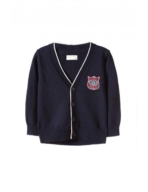 Sweter chłopięcy zapinany 1C3505