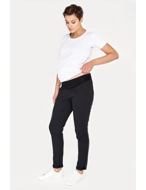 Spodnie ciążowe czarne