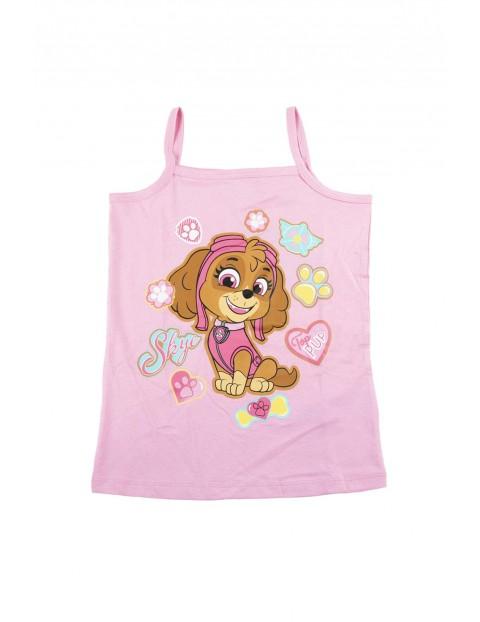 Piżama dziewczęca na ramiączkach Psi Patrol