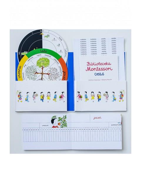 Biblioteczka Montessori. Czas- karty edukacyjne