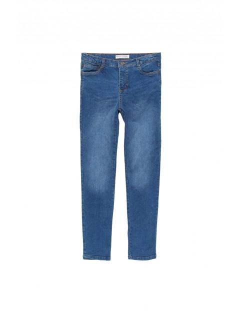Jeansowe spodnie niemowlęce