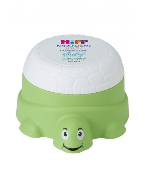 HiPP Babysanft Sensitive Żółwik Krem do twarzy i ciała dla dzieci od 1. dnia życia 100 ml
