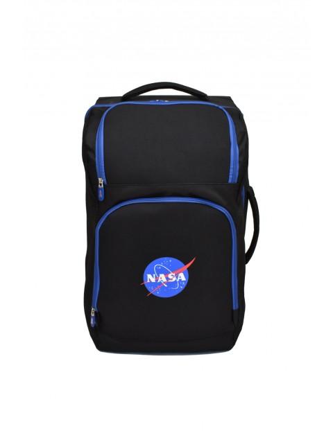 Torba trolley NASA czarno-niebieska