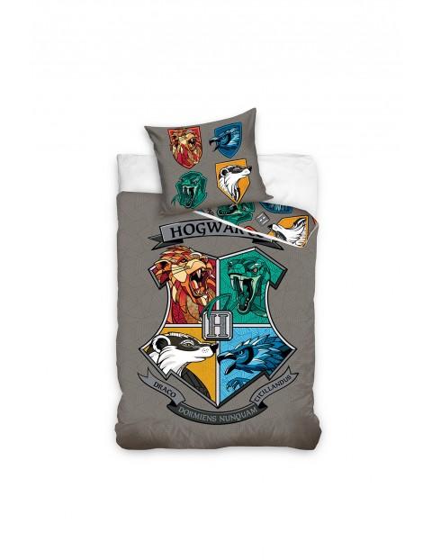 Komplet pościeli bawełnianej Harry Potter 140x200+70x90 cm