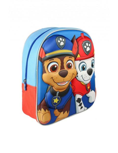 Plecak dla chłopca Psi Patrol 3D