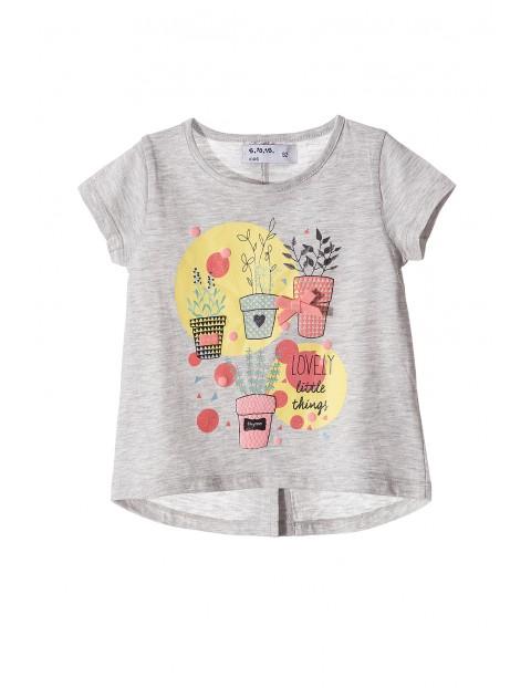 T-shirt dziewczęcy 3I3404