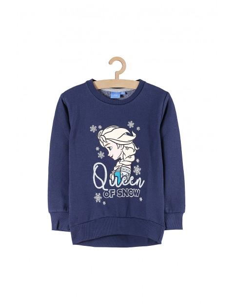 Bluza dziewczęca dresowa Kraina Lodu