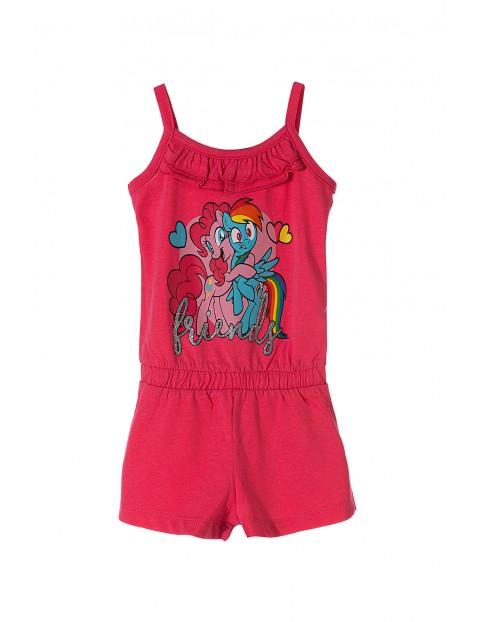 Kombinezon dziewczęcy różowy Pony