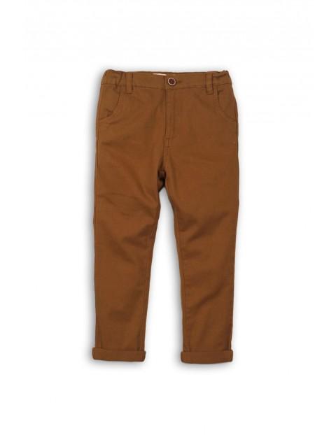 Spodnie chłopięce chinosy 1L35AM