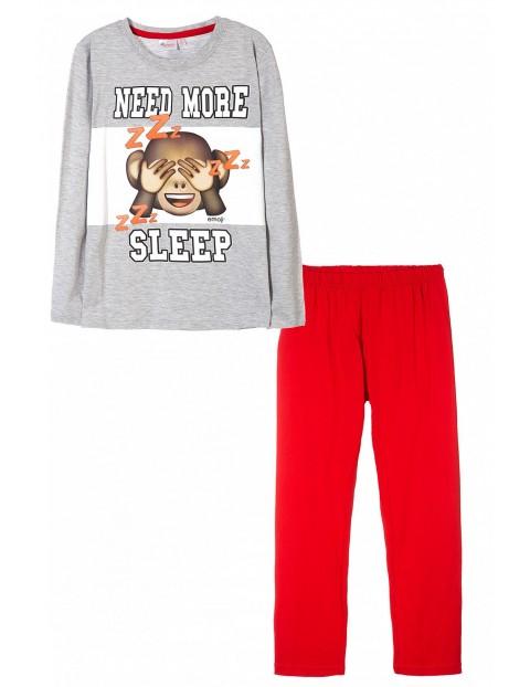 Pidżama chłopięca Emoji 1W35DK