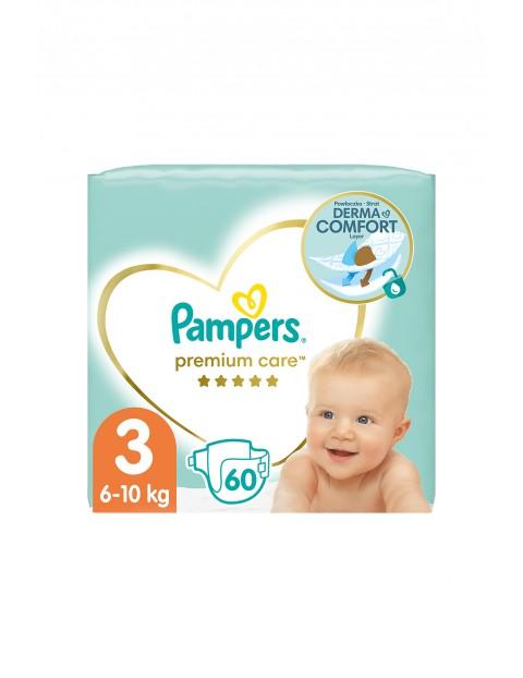 Pampers Premium Care, Rozmiar 3, 60 pieluszek 6-10kg